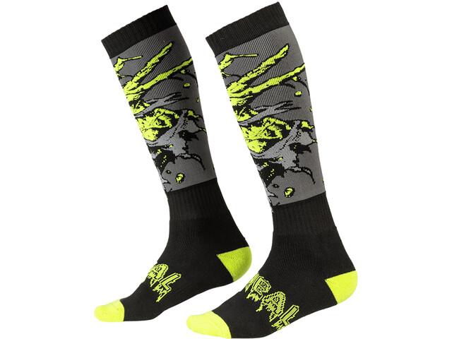 O'Neal Pro MX Calcetines, negro/verde